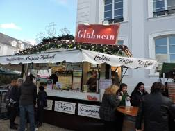 "German ""Glühwein"" is hot wine they drink in winter"