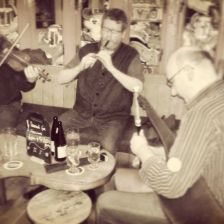 Live music in a pub in Galway