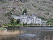 "Stop at ""Kylemore Abbey"" on the way of the Cliffs of Moher"