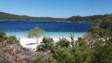 First day: Amazing Lake McKenzie