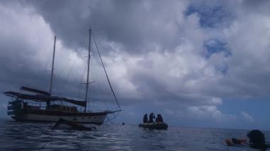 Our Whitsunday sailing boat!