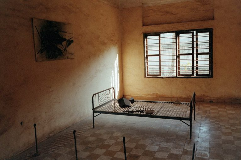 Former class rooms were used to torture innocent people.