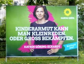 plakat grüne